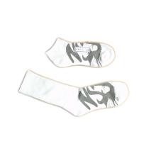 Hombres de las mujeres de tobillo de alta moda deportes calcetines con algodón (fss-02)