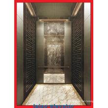Immeuble commercial Ascenseur Elevage de passagers avec petite salle de machines