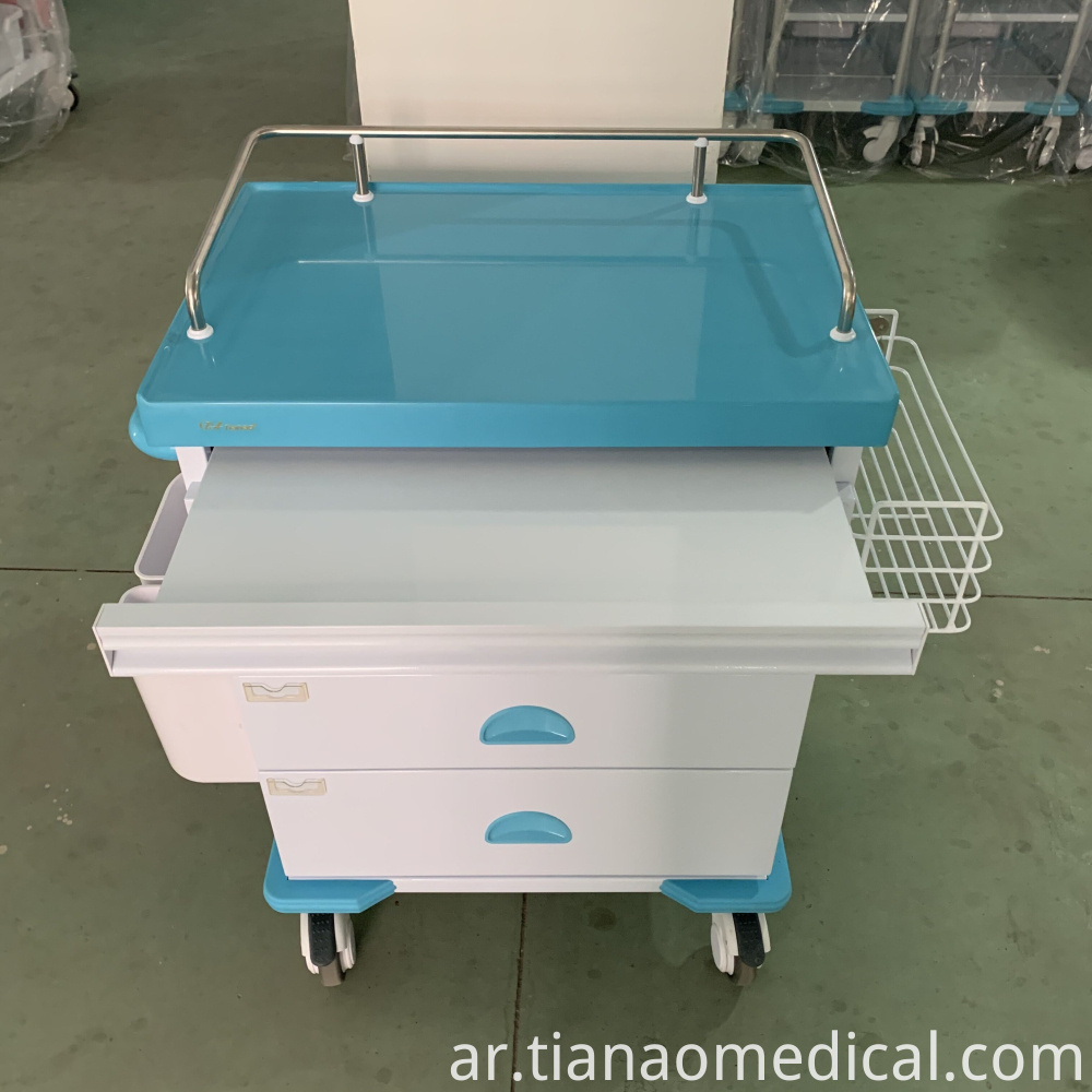 Hospital ABS Anesthesia Trolley