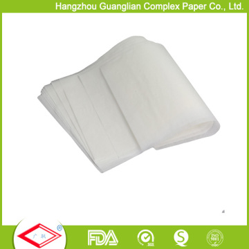 Padaria tratada da folha do papel de cozimento do silicone de 40cmx60cm que cozinha o papel