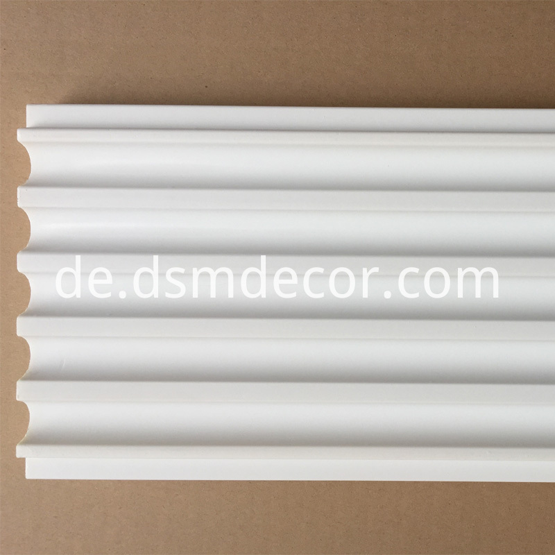 Polyurethane Fluted Decorative Pilasters