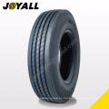 JOYALL China fábrica TBR neumático A875 súper sobre carga y resistencia a la abrasión 295 / 75r22.5 para su camión