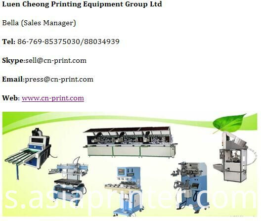 Silk Screen Frame exposure unit machine