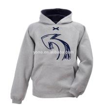 Wholesale blanc conçu sweatshirts coton sweatshirts à vendre