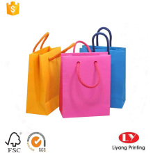 Small promotion gift bag with cotton handle