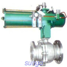 Floating ball valve with reduced bore
