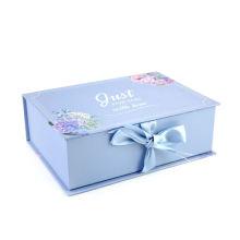 Custom Design White Magnetic Women Lingerie Foam Paper Boxes Bra Gift Box Underwear Clothing Packaging