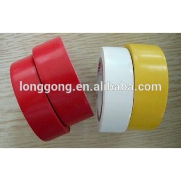 Ruban isolant électrique en PVC rouge