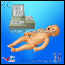 Bonecas multifuncionais avançadas de CPR para bebês, mankins medicinais recém-nascidos