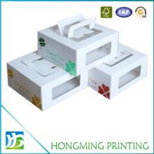 Take Away White Cake Boxes with PVC Window