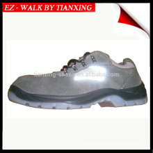PU/TPU outsole safety shoes with steel toe