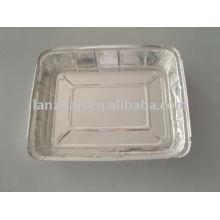 bandeja de alimentación de papel de aluminio