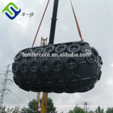 Pneumatic marine fenders with Used Aircraft Tyre