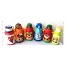 Authentisches Saug-Vakuum-Warmhalte-Glas, Kinderkarikatur-doppelte Abdeckungs-Schale