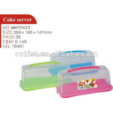 bread storage, food container, plastic preservative box for cakes