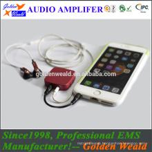 bass amplifier headphone amplifier rechargeable battery amplifier