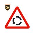 Placas de sinalização rodoviária personalizadas com avisos de segurança