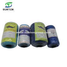 PE/PP/Polyester/Nylon Plastic Twisted/Braided Multi-Filament Rope/Baler/Packing Line/Thread/Fishing Net Twine for Europe