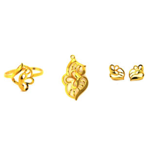 Lonely18K Modeschmuck-Set