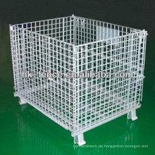 Heißer Verkauf heißer eingetauchter galvanisierter faltender Draht-Behälter für Lagerung