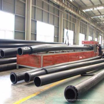 HDPE / UHMWPE résistant à l'usure grand diamètre tuyau de dragage sable / lisier