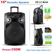 Portable Trolley Wireless Bluetooth Speaker Karaoke Speaker