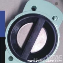 Одиночный или двойной плита проверить Клапан-Бабочка