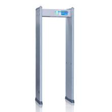 4 Detect Zone Human Indicating Lamp Archway Metal Detector
