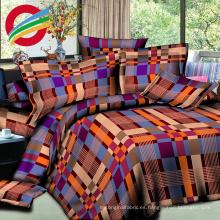 Tela moderna barata impresa haciendo conjuntos de sábanas