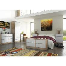 Meubles de chambre à lacets brillants à design élégant (HF-MN012)