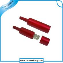 Bouteille de vin en forme de lecteur flash USB