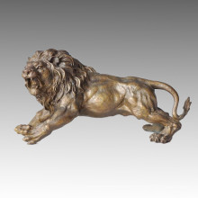 Tier Statue Löwe Making-Replica Bronze Skulptur Tpal-036