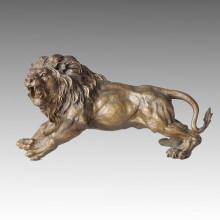 Animal Statue Lion Making-Replica Bronze Sculpture Tpal-036