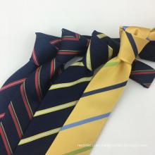 Corbata de seda para hombre 100% tejida hecha a mano del telar jacquar