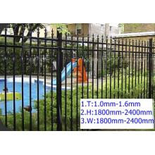 Cerca de acero / cerca de acero galvanizado / cerca del PVC
