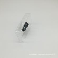 plateau blister transparent en PVC blister