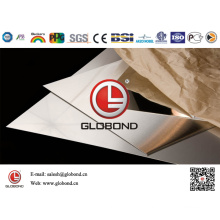Globond Brushed Stainless Steel Sheet 035