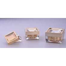 Jy218 30g quadratum frasco cosmético com qualquer cor