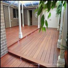Tablero de madera de Decking al aire libre de alta calidad de Merbau