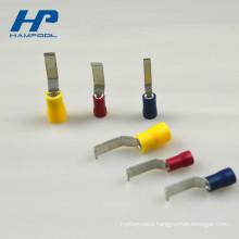 Cheap Pre-insulated PVC Electrical Lipped Blade Crimp Terminal