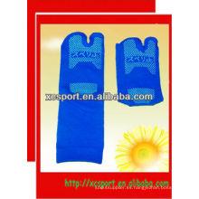 Calcetines antideslizantes de algodón de punto
