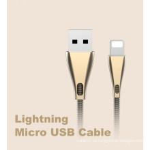 Cable USB para cable de carga rápida de datos