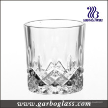 Gobelet en verre à cristaux liquides en cristal Diamond Design (GB040908JC)