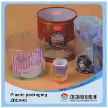 Beautiful Printed Clear Auto Pillow PVC Plastic Packaging Box