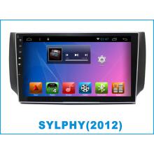 Android coche DVD y navegación GPS para Sylphy con MP3 / MP4 / Bluetooth / TV / WiFi