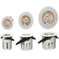 Dimbare LED-downlight van 10 W met aluminium