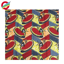 Imprimé africain de cire de polyester pur robes tissu tissé à vendre