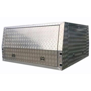 Placa Checker de alumínio UTE / Caixa de ferramentas impermeável para caminhão