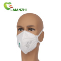 Factory Price Wholesale White Foldable Disposable Kn95 Respirator Mask With Valve