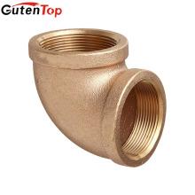 GutenTop высокое качество латунь выковала штуцеры трубы отводов с продетое нитку BSP